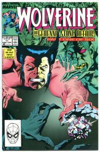 WOLVERINE #11, NM, Buscema, 1988, X-men, Bill Sienkiewicz, more in store