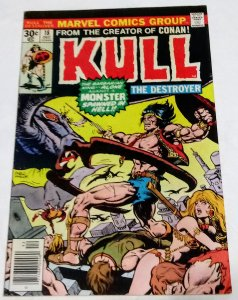 Kull The Destroyer #18 (VF-) 1976 see more Bronze Age Marvel ID#74L