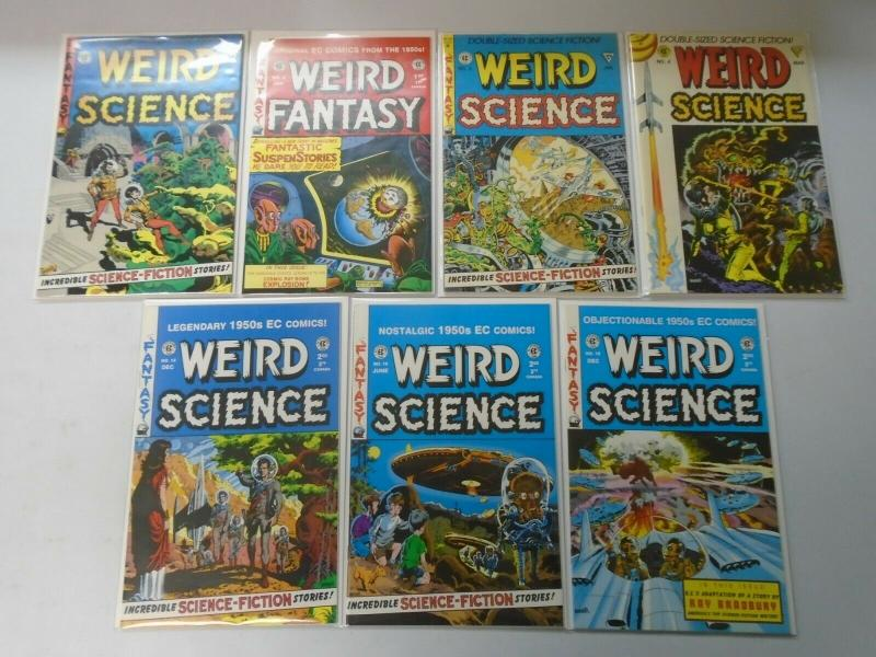 Weird Science comic lot 7 different issues (90s reprints) 8.0 VF