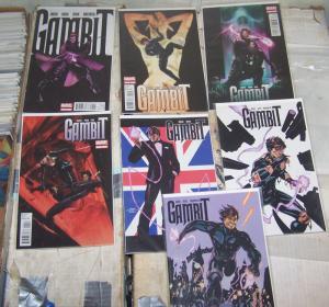 gambit # 1 2 3 4 5 6 7 marvel 2012 x-men rogue mutant