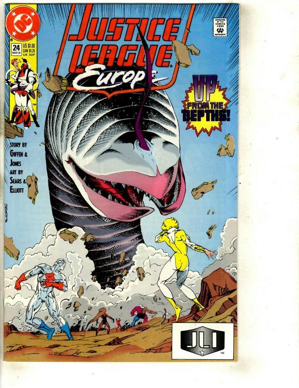 12 Justice League Europe DC Comics # 10 13 14 15 16 17 18 20 21 22 23 24 JF26