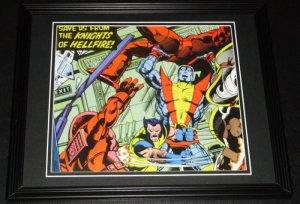 Uncanny X-Men vs Knights of Hellfire Framed 11x14 Photo Poster Display