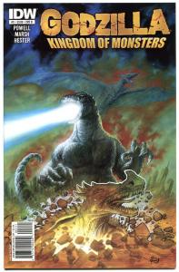 GODZILLA Kingdom of Monsters #2 B, NM, Eric Powell, 2011, more Horror in store