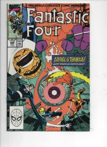 FANTASTIC FOUR #338 VF+ Death's Head, 1961 1990 Marvel, more FF in store