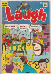 Laugh, Archie #193 (Apr-67) VG/FN Mid-Grade Archie