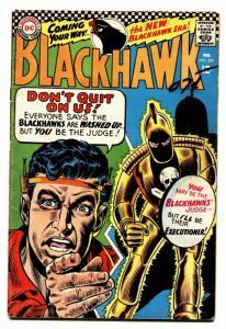 BLACKHAWK #229-DC-NEW BLACKHAWK ERA vg