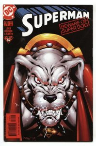 SUPERMAN #170 2001 KRYPTO issue comic book NM-