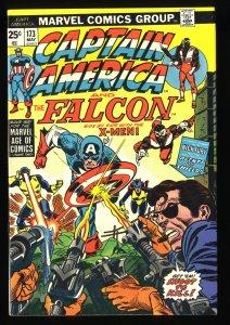 Captain America #173 VF 8.0 X-Men!
