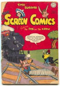 Real Screen Comics #16 1948-FUNNY ANIMALS-GOLDEN AGE fair
