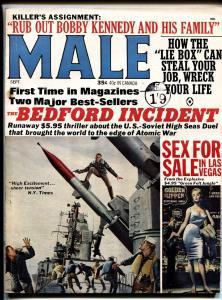 Male 9/1964-Atlas-RFK-Lie detector-Egypt-Pulp thriills