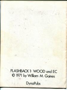 Flashback #1 1971-Dyna Pubs-1st issue-Wally Wood-EC comics- B&W reprints-VG/FN