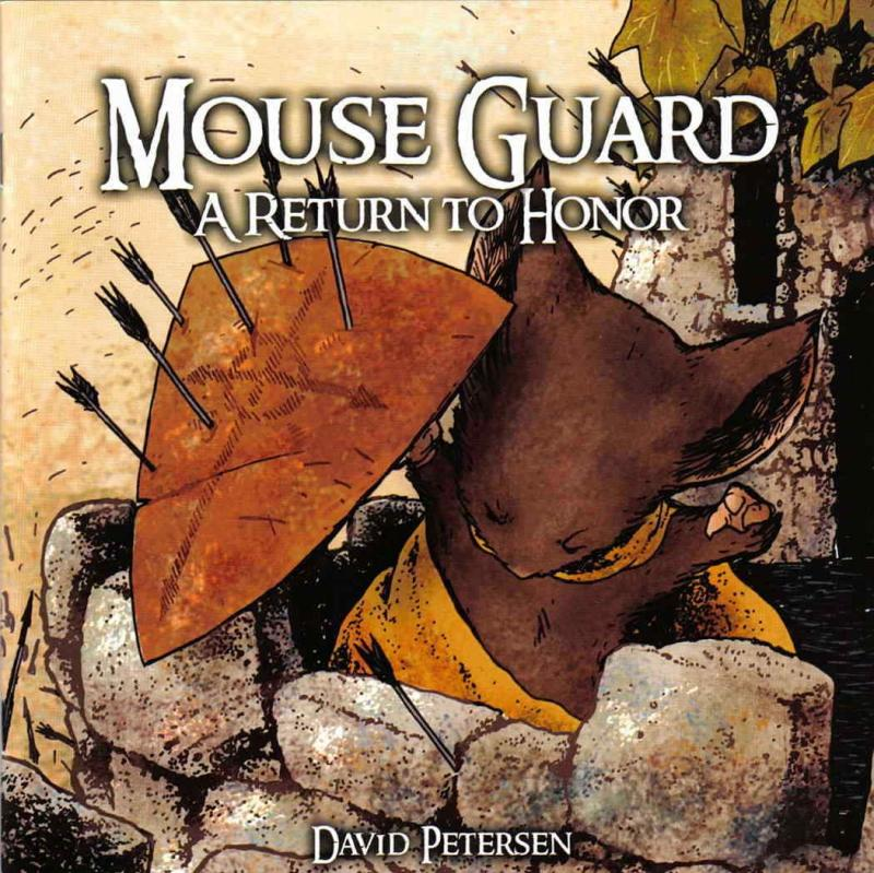Mouse Guard #6 VF/NM; Archaia | save on shipping - details inside