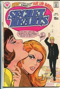 Secret Hearts #145 1970-DC-classic DC romance-spicy art--VG