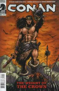 Conan: The Weight of the Crown #1 VF; Dark Horse   save on shipping - details in