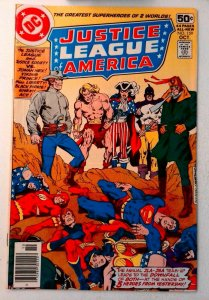 Justice League of America #159 DC 1978 FN+ Bronze Age Comic Book 1st Print