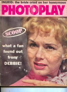 Photoplay-Debbie Reynolds-Ingrid Bergman-Inger Stevens-April-1959