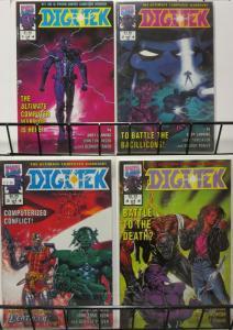 DIGITEK (1992 MUK) 1-4  MyS-TECH!  DEATHLOK! Complete!