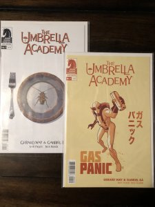 Umbrella Academy:Hotel Oblivion #1 A&B