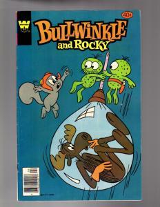 BULLWINKLE & ROCKY 20 VERY GOOD-FINE April 1979 Whitman