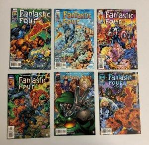 Fantastic Four #1-13 (Marvel 1996) Jim Lee Brandon Choi (8.5+)