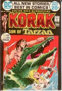 KORAK SON OF TARZAN 47 VF Aug. 1972 COMICS BOOK