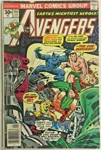 AVENGERS#155 VG 1977 MARVEL BRONZE AGE COMICS