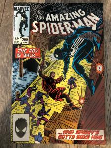 Marvel Amazing Spider-Man 265 * 1st Appearance of Silver Sable *