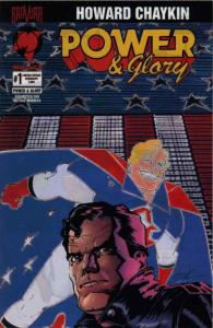 Power And Glory #1LE VF/NM; Malibu | save on shipping - details inside