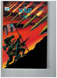 The War Book Two NM Marvel Prestige Format Graphic Novel Comic Book Series S78