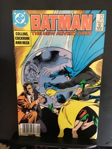 Batman #411 (1987) Two-face and Robin cover Key! NM- Wow