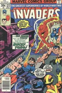 Invaders, The (2nd Series) #27 VG; Marvel | low grade comic - save on shipping -