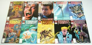 Fright Night #1-22 VF/NM complete series +3-D +Halloween Annual +Fall +Part II