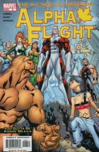 Alpha Flight (3rd Series) #6 VF/NM; Marvel   save on shipping - details inside