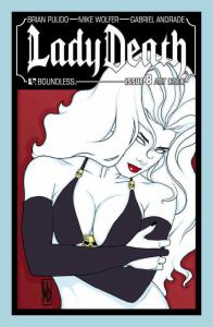 Lady Death (Boundless) #8B VF/NM; Boundless | save on shipping - details inside