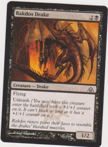 Magic the Gathering: Dragon Maze - Rakdos Drake