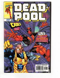 DEADPOOL (1997) 22 F Nov 1998 COMICS BOOK