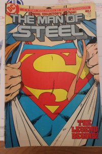 Man of Steel 6 Part Mini Series Special Collectors Edition #1 VF