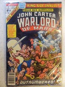 JOHN CARTER WARLORD OF MARS KING SIZE ANNUAL # 2
