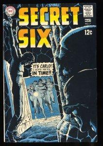 Secret Six #7 VF+ 8.5 White Pages