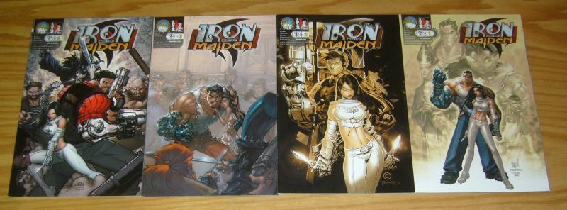 Iron and the Maiden #1-4 VF/NM complete series B variants - madureira - bachalo