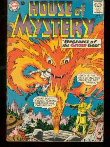 HOUSE OF MYSTERY #131 1963 DC COMICS FIRE GOD COVER VG
