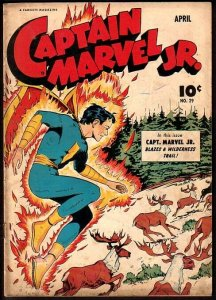 CAPTAIN MARVEL JR. #29-CLASSIC-GOLDEN AGE VG