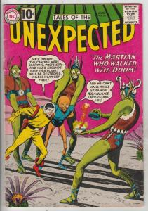 Tales of the Unexpected #64 (Aug-61) VG/FN Mid-Grade Space Ranger, Cyrl