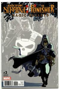 Doctor Strange Punisher Magic Bullets #2 Lopez Variant (Marvel, 2017) VF/NM