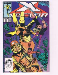 X-Factor #22 VF Marvel Comic Book 1987 X-Men Cyclops DE7