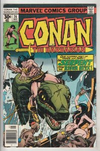 Conan the Barbarian #74 (May-77) VF/NM High-Grade Conan the Barbarian