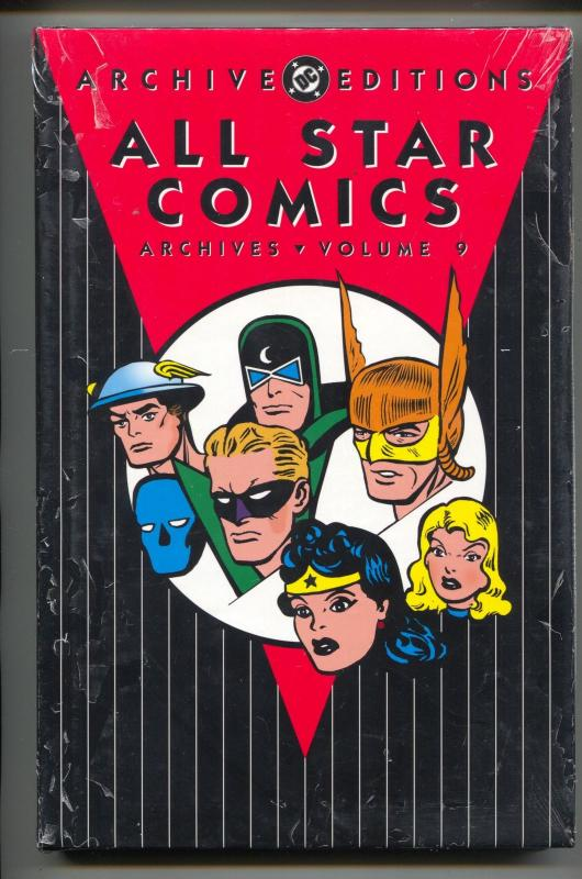 All Star Comics Archives-Vol 9-Golden Age Color Reprints-Hardcover