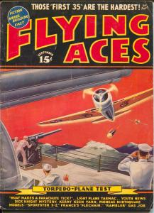 Flying Aces 9/1939-August Schomburg-Dick Knight-Al McWilliams-VG