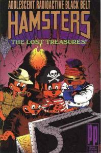 Adolescent Radioactive Black Belt Hamsters: The Lost Treasures #1 VF/NM; Parody