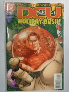 DC Universe Holiday Bash #1 Signed NM (1997)